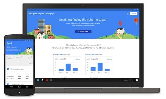 AdWords Compare mortgages
